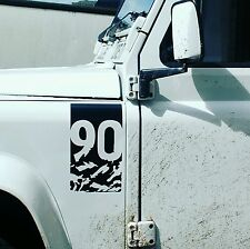 Land Rover Defender Adventure Edition decal sticker (90) landrover Tuff rok