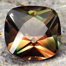 "CHROME GREEN-ORANGE-PINK-TEAL ""MYSTIQUE"" SCHILLER OREGON SUNSTONE 2.31CtFLAWLESS"