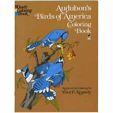NEW Audubon's Birds of America Adult Coloring Book for Grownups Paperback Brand