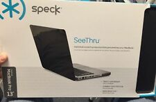 "Speck MacBook Pro 13"" See Thru Satin soft touch case- Black"