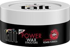 NUOVO TAFT POWER NERO CERA Caffeina-POWER FORMULA 48h Power & Energy 75ml