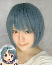 Miki Sayaka Puella Magi Madoka Magica Short Cosplay Party Wig Hair