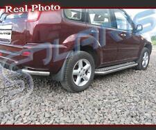NISSAN X-TRAIL 01-06, REAR CORNERS + SIDE STEPS/RUNNING BOARDS + GRATIS!!!