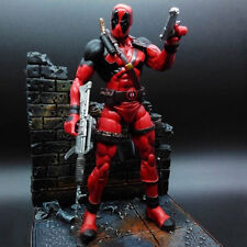 Marvel Legends X-MAN Deadpool Wade Wilson with background Action Figure Toy