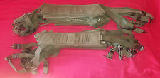 PAIRE de BRETELLES de SUSPENSION M-56 Suspenders 1er modèle US ARMY VIETNAM