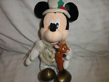 Tokyo Disneyland Christmas Fantasy 2006 Victorian Mickey Mouse Plush Doll w/ Tag