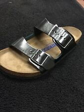 Birkenstock Arizona Metallic Anthracite Women's 38 - 39 - 40 - 41 - 42