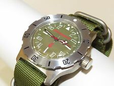 Russian military watch VOSTOK. Komandirskie. Men's Fashion. VC 350645-К35
