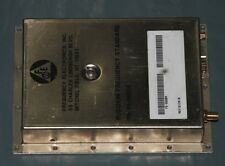 1 Hz to 20 MHz Programmable Rubidium Frequency standard, sinewave FE-5680A 1pps
