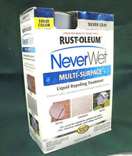 RustOleum NeverWet Multi Surface Liquid Repelling Treatment- Silver Gray (A2)