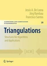 Algorithms and Computation in Mathematics: Triangulations : Structures for...