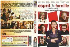 UNIQUEMENT LA JAQUETTE POUR DVD : ESPRIT DE FAMILLE avec SARAH JESSICA PARKER