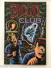 Blood Club Featuring Big Baby Hardcover Kitchen Sink Press 1992