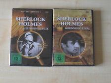 Sherlock Holmes - Geheimnisvolle Fälle - Special edition 1+2 / 2 DVDs neu