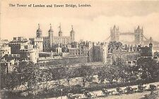 B85402 the tower of london and tower bridge chariot    london uk