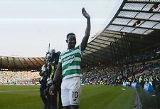 CELTIC HAND SIGNED MOUSSA DEMBELE 12X8 PHOTO PROOF 2.