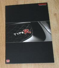 Honda Civic Type R Brochure 2002 - Including Accord & Integra Type-R