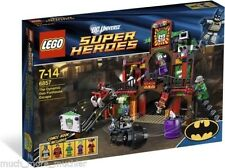6857 THE DYNAMIC DUO FUNHOUSE ESCAPE lego NEW dc batman super heroes joker