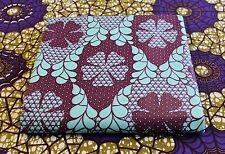 African Wax Print Cotton Fabric 4 Crafts & Dresses Bright & Bold Colors Per Yard