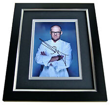 HESTON BLUMENTHAL SIGNED 10x8 FRAMED Photo Autograph Display FAT DUCK CHEF COA