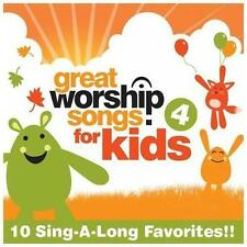 Great Worship Songs for Kids 4 Great Worship Songs Kids Praise  Music-Good Condi
