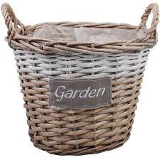 """Garden """"pascoli CESTO FIORI CESTO CESTINO DA GIARDINO NUOVO"""
