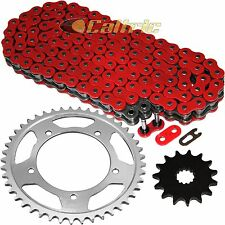 Red O-Ring Drive Chain & Sprockets Kit Fits SUZUKI GSX-R600 GSXR600 2001-2005