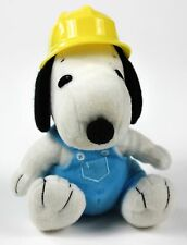 MetLife snoopy construction  plush doll