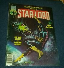 Marvel Preview # 11 FN 2nd appearance Starlord Guardians Of The Galaxy 1st print