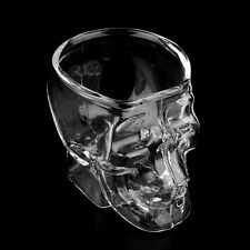 Mini Skull Head Shaped Shot Glass Cup Whisky Wine Bar & Party Cup BE