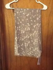 NWT! Tilo Heart Scarf - Gray with White Hearts RETAIL: $125