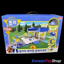 Robocar Poli Car Wash Station Center Play set for Poli Diecast Model