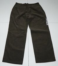 Structure Mens 36X34 Brown Cotton Pleated Relaxed Fit Corduroy Jeans NWTs