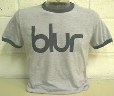 Blur 'Heather Grey' Ringer  T-Shirt