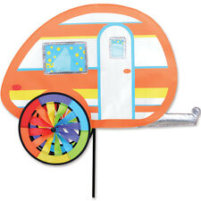 """Teardrop 27"""" Camper Staked Wind Spinner with Pole & Ground Mount PR 25648"""