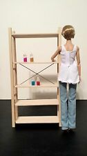 "NEW IKEA IVAR FURNITURE SHELF FOR Fashion Royalty 12"" doll BARBIE POPPY PARKER"