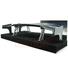 Slidelogy Shiny Carbon Pattern Spoiler Black Stands Type L 1:10 RC Car #SDY-0064