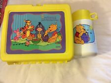 vintage Thermos lunchbox and thermos container winnie the pooh