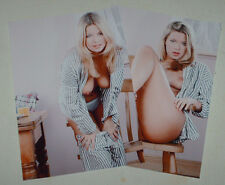 POPPY COLES NUDE JOB LOT SET 10 PHOTOS 7 X 5 GLAMOUR MODEL PYJAMAS STRIPTEASE