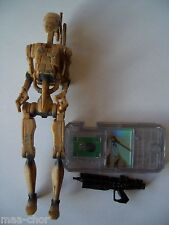 Star wars episode 1 loose ultra rare battle droid rusty/sale variante mint.C-10+