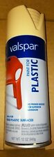 VALSPAR premium PAINT FOR PLASTIC SATIN LAZY SUN spray paint 68121 12 oz