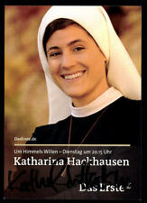 Katharina Hackhausen Um himmels willen Autogrammkarte Original  # BC 51388
