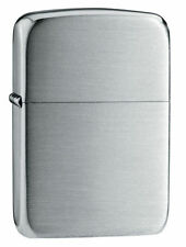 "Zippo ""Sterling Silver"" Satin Finish Lighter, 1941 Replica,  Velour Box, 24"