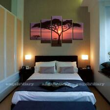 Large Sunset&Tree Canvas Print Wall Art Painting Picture NO frame 3 Size #1
