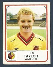 PANINI FOOTBALL 84-#323-WATFORD-OXFORD UNITED-LES TAYLOR