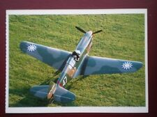 POSTCARD AIR CURTISS P-40 WARHAWK PLANE - WARBIRDS GHOSTS FROM THE PAST
