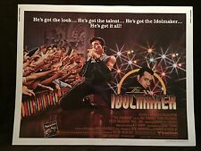 Original 1980 THE IDOLMAKER Half Sheet Movie Poster 22 x 28 Peter Gallagher