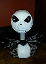 Disney Nightmare before Christmas Jack Skellington talking life size bust NECA