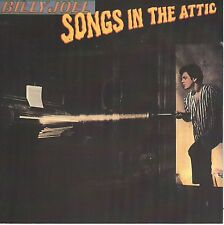 Songs in the Attic by Billy Joel (CD, CBS) Australian Import/Live