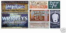 N Scale Ghost Sign Decals #45- Weather Your Buildings & Structures!